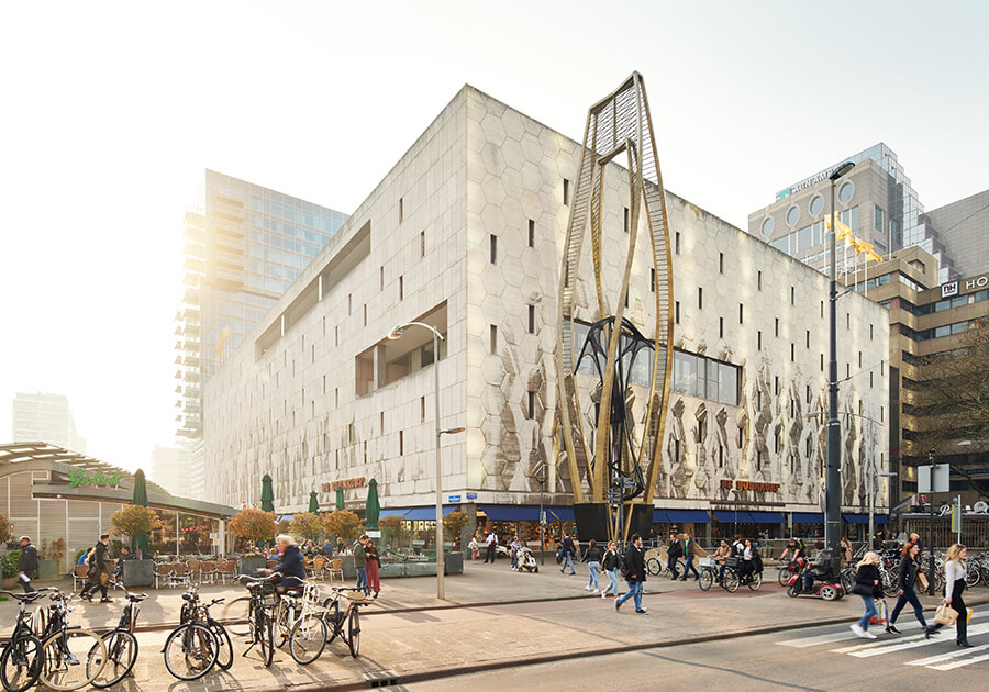Inside Rotterdam - Bijenkorf mens fashion