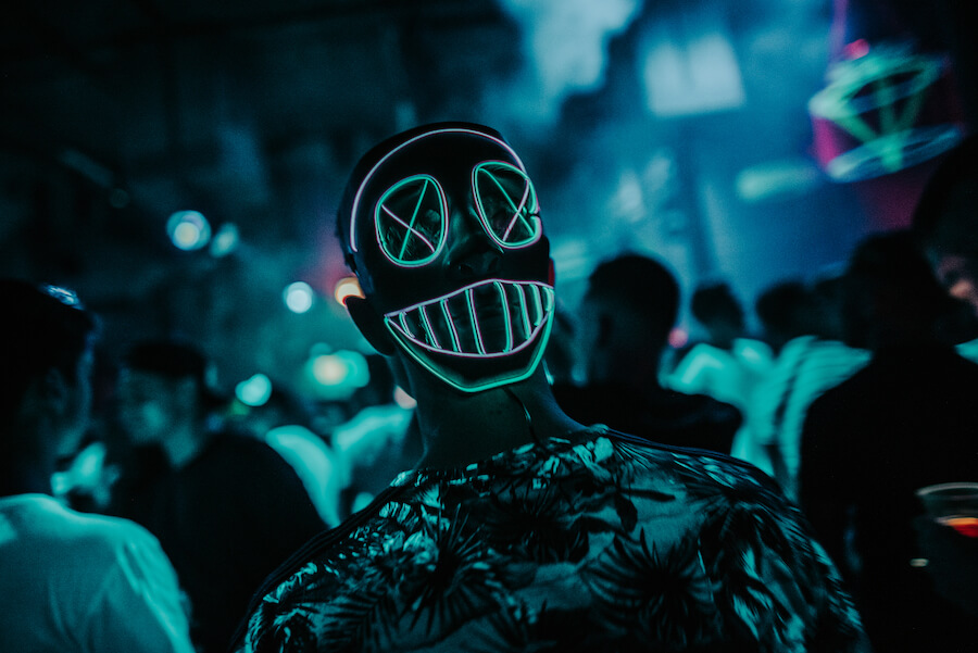 Glow in the Dark Halloween edition - Inside Rotterdam