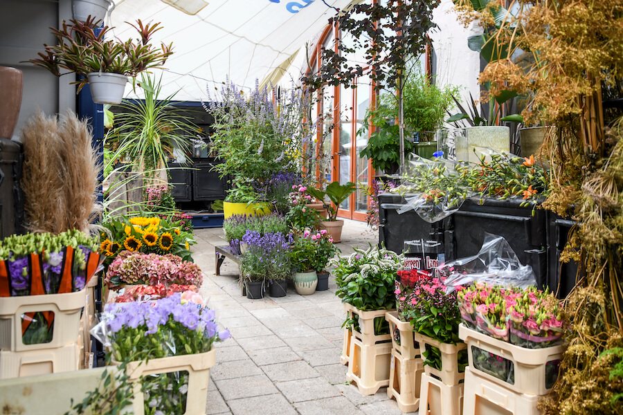 Zomers' Flower shop